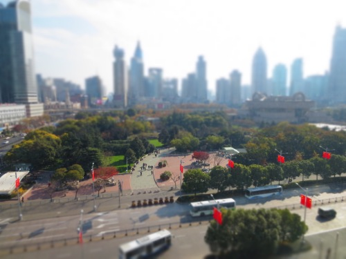 I just can't get enough of this goofy tilt-shift setting on my camera.