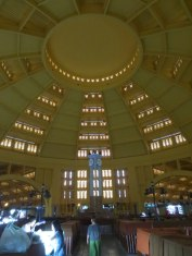 Central Market's most fantastic Art Deco dome.