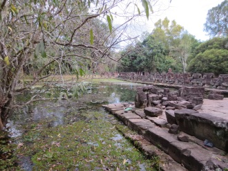 Preah Khan: the entrance.