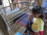 The Artisans d'Angkor are working to revive traditional crafts in danger of being lost. The silks are crazy cool.