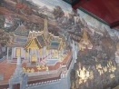 Part of the gorgeous murals at the Grand Palace, beautifully maintained. (Compare these with those from the palace in Phnom Penh, which were no doubt equally splendid in their time but which have suffered considerably from the ravages of time.)