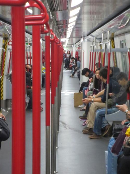 in the train 2