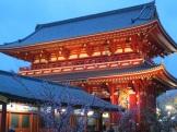 Sensōji, Tokyo's largest Buddhist temple.