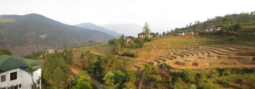 Punakha Hotel Panorama View