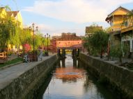 The Japanese Covered Bridge, the icon of Hoi An.